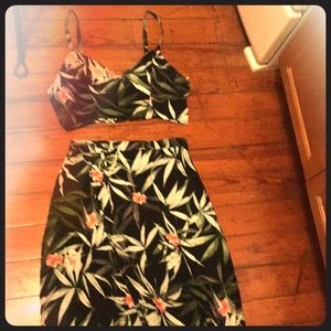 2 Piece summer dress